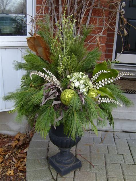 christmas decoration for urn best 25 urns ideas on planters outdoor planters and