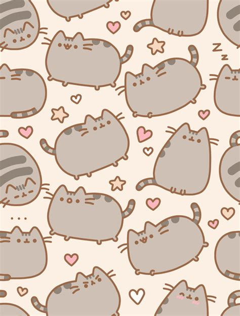 cat background pattern tumblr pusheen the cat on twitter quot check out this brand new