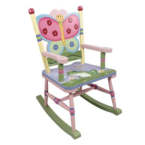 Magic Garden Rocking Chair Dolls Fields By Teamson Magic Garden Childrens Rocking Chair Wooden Rocker Seat