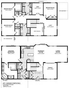 5 Bedroom Modular Home Floor Plans 54 Big 5 Bedroom House Plans Plans House Floor Plans One