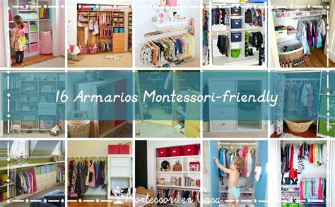 Toddler Bedroom Ideas 16 Armarios Montessori Friendly 16 Montessori Friendly