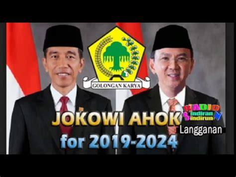 ahok wapres 2019 setujukah kalian bila jokowi dan ahok jadi presiden 2019