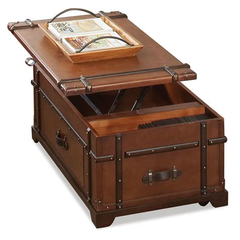 Furniture Lift Top Coffee Table Trunk Kitchen Wallpaper Lift Top Trunk Coffee Table