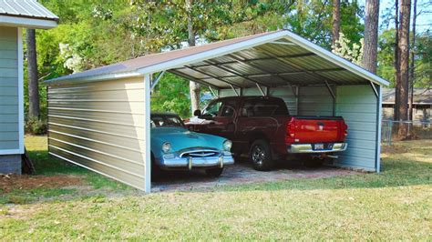 Two Car Carport Cost by Useful Two Car Carport Also Premium Luxury Aluminum Alloy