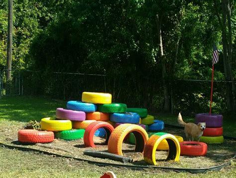 diy backyard playground ideas best 25 tire playground ideas on tires ideas