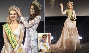 fb miss grand international australian model claire parker crowned miss grand
