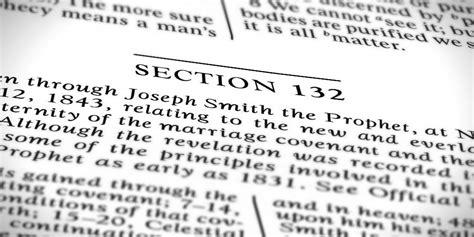 section 132a blog repost d c 132 a revelation of men not god