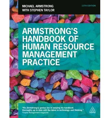 Human Resource Management Books For Mba Pdf by Armstrong S Handbook Of Human Resource Management Practice