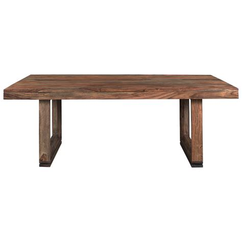 adjustable dining table desk by coast to coast imports coast to coast imports brownstone rustic dining table with