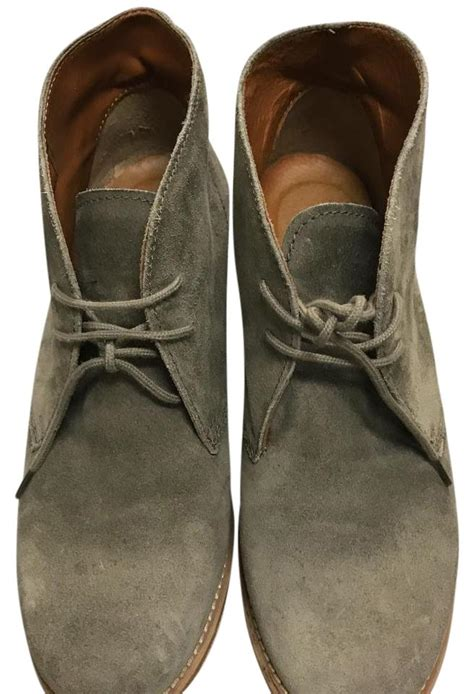 Fab Site Madewell1937com by Madewell 1937 Suede Ankle Grey Boots On Tradesy