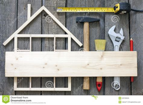 wooden house construction renovation royalty free stock