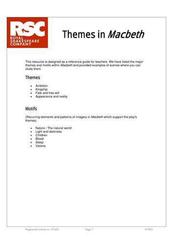 key themes of macbeth 150 best secondary macbeth images on pinterest student
