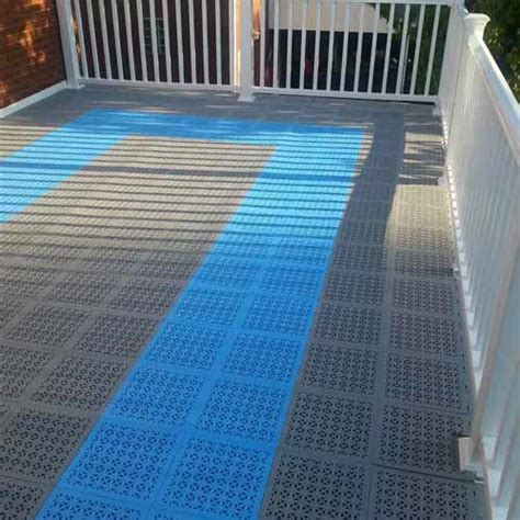 Outdoor Deck Flooring by Greatmats Specialty Flooring Mats And Tiles The Many Uses Of Staylock Perforated Tiles
