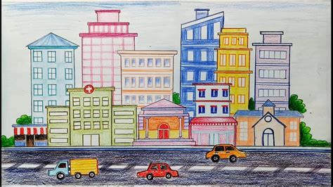 How To Draw A Clean City