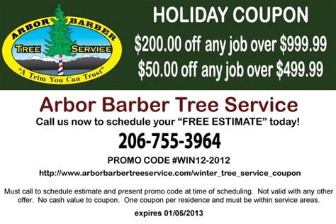 christmas tree company coupon code tree service coupon yelp