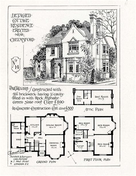 ideal homes clare and ross architects c1902 working