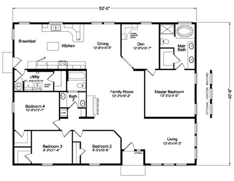 floorplan or floor plan the mt adams 5v452e9 home floor plan manufactured and