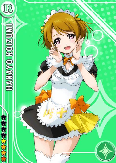 Hanayo Koizumi Sensation Version School Idol Tomodachi Cards Album 44 Koizumi Hanayo R