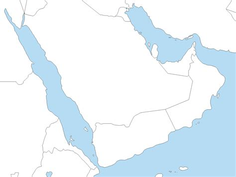 Gcc Countries Map Outline by A Blank Map Thread Page 203 Alternate History Discussion