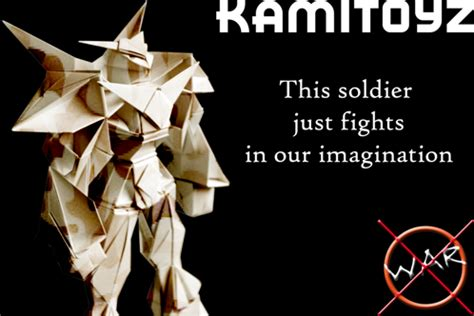 How To Make An Origami Soldier - origami soldier by kamitoyz on deviantart