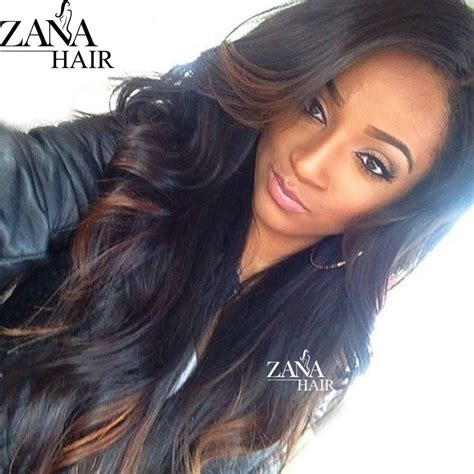 Wig Hair Extension Strike Highlight Hair wavy hair ombre glueless lace wigs highlight ombre hair