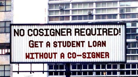 can you get student loans without a cosigner student