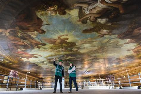 what is painted on the ceiling of the sistine chapel the painted hall at old royal naval college greenwich how