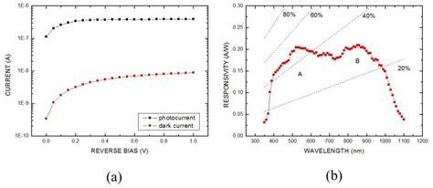 photodiode bias si based zno ultraviolet photodiodes intechopen