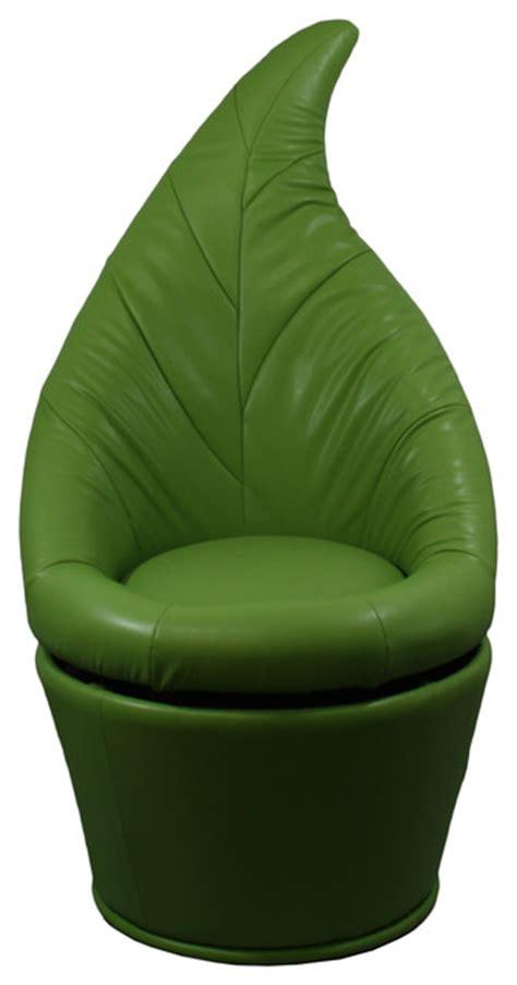 green swivel chair shop houzz ore international 48 quot h green leaf swivel