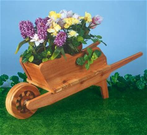 Wheelbarrow Planter Plans by Wheelbarrow Planter Wood Plan Out Side Furniture