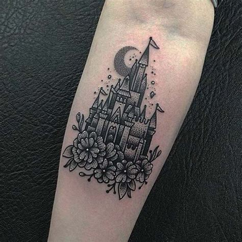 disney castle tattoos designs 33 exquisite disney castle designs disney castle