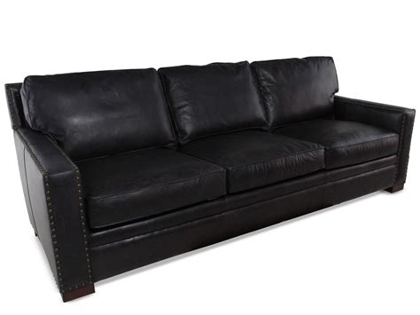 henredon leather sofa henredon leather sofa mathis brothers