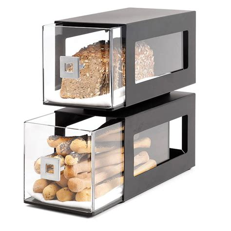 rosseto bd101 2 drawer countertop bakery display