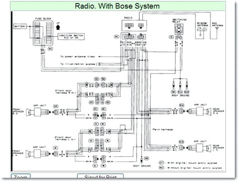 pathfinder stereo wiring diagram wiring diagram with