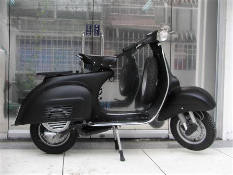 Zippo Custom Grey Vespa Black Matte saigon scooter centre lambretta parts vespa parts