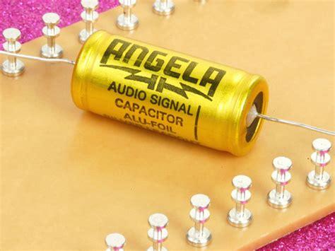angela capacitor angela aluminum foil paper in capacitor 1uf 630vdc