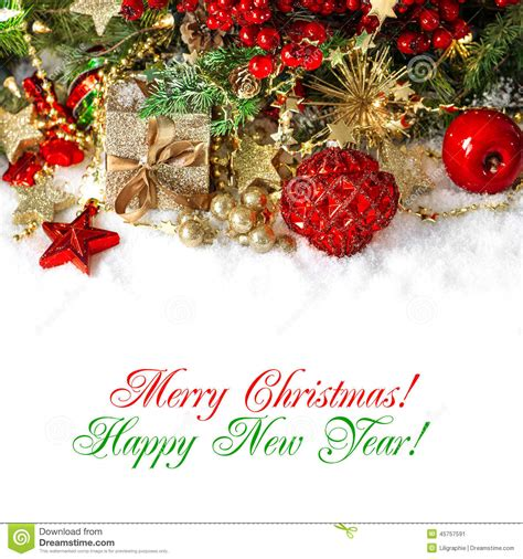 christmas decoration  red  gold holidays background stock photo image