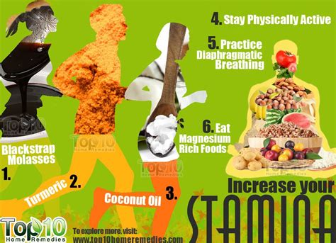 home remedies to increase stamina and energy top 10 home