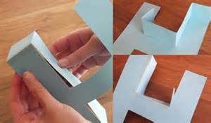 3d paper letters template how to make a 3d letter of paper