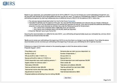 W 4 Worksheet Calculator by W4 Worksheet Tax Withholding Calculator W4 Worksheet Tax
