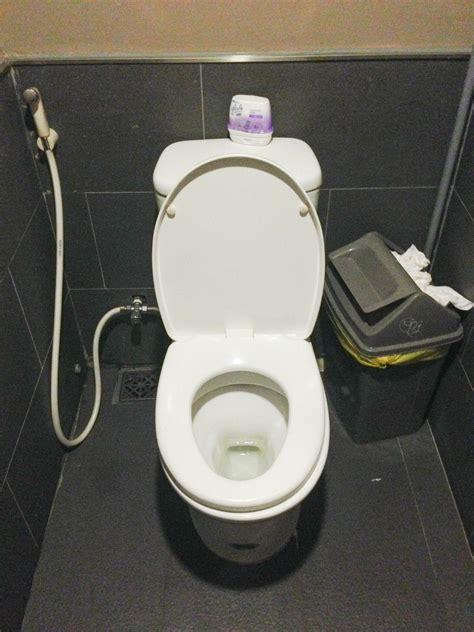 Klo Mit Bidet by Toiletten In Asien
