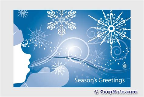 seasons greetings cards email inbox or web browser