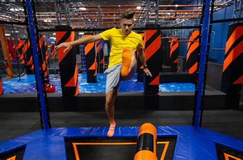 sky zone hampton opens bringing needed indoor family