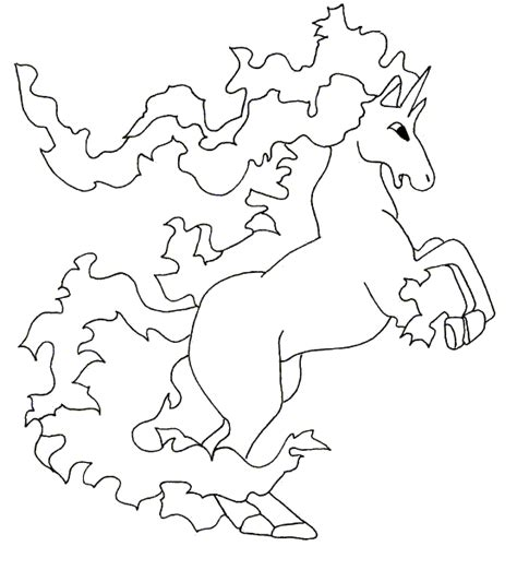 pokemon coloring pages rapidash rapidash pokemon coloring pages images pokemon images