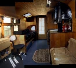 Interiors By George Short Love The Woodwork In This Bus Conversion 1946