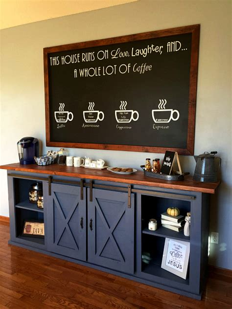 22 Coffee Station Ideas   You?ll Be Inspired to Copy