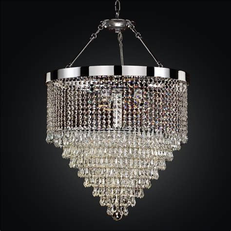 Chandelier Mounting Teardrop Semi Flush Chandelier Spellbound 605 Glow Lighting