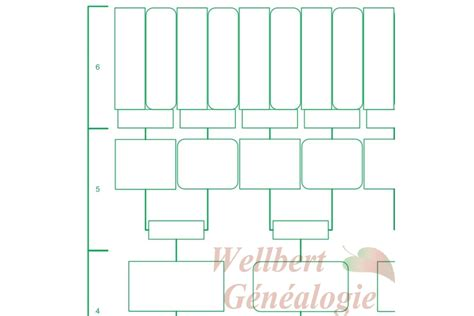 printable family tree 6 generations family tree chart 6 generations printable empty to fill in