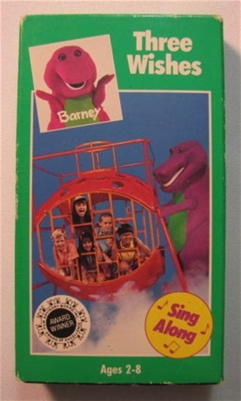 barney the backyard gang three wishes barney three wishes vhs video ad 3179615 addoway