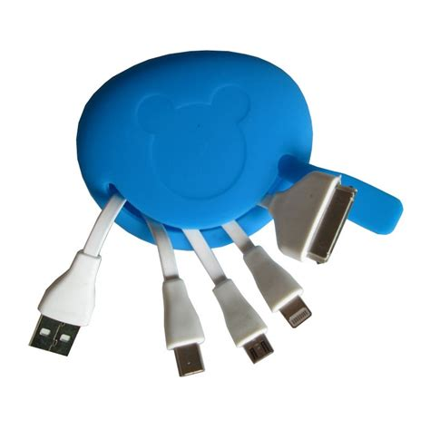 Gadget Pouch Biru kabel xt 11 silicon pouch biru
